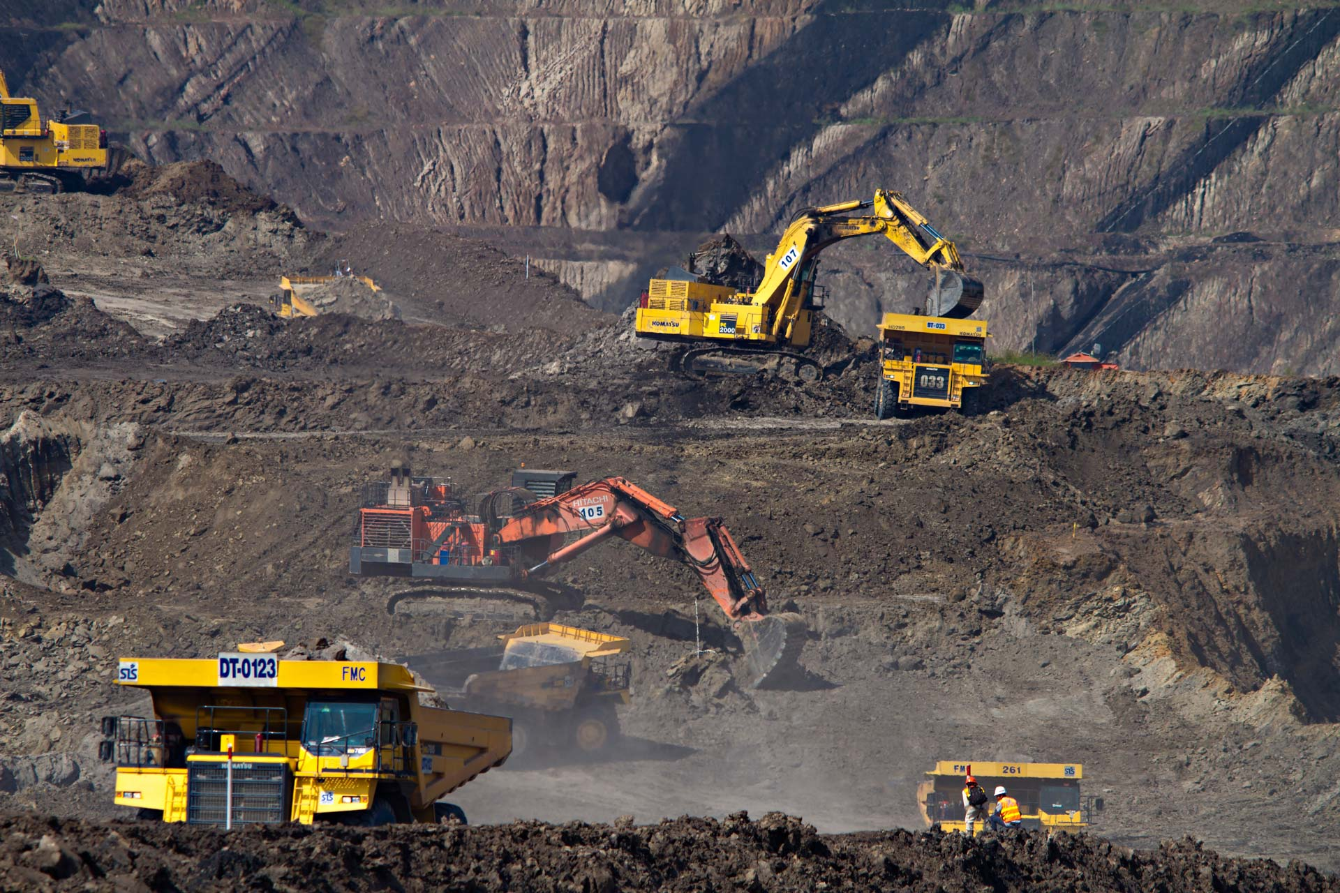 Resource Company IT, Mining Production and Vehicles